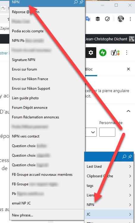 Comment gérer ses emails avec Phrase Express / Text Expander pour accélérer la saisie des réponses
