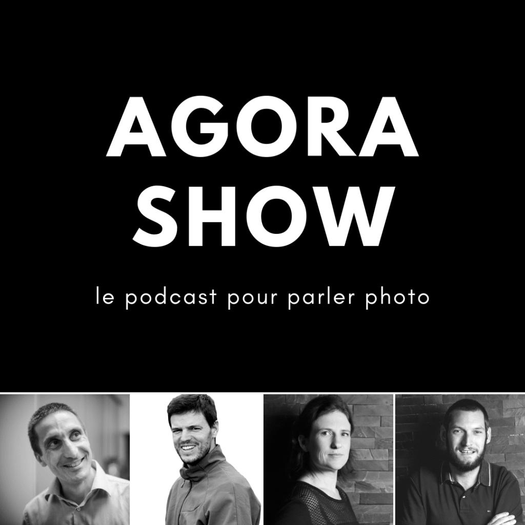 Agora Show, le podcast photo avec Jean-Christophe Dichant, Régis Moscardini, Céline et Guillaume Manceron